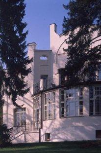 Výstava: Sedm cest architekta Osvalda Polívky (1859-1931) - Zemanova vila, Černošice, 1903