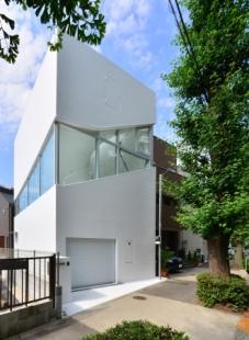 Oranžový dům v Tokiu od Norisada Maeda - foto: Studio Dio