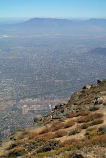 Výlet Santiago de Chile - Pohled zpředhůří And - foto: Ondřej Bartůšek