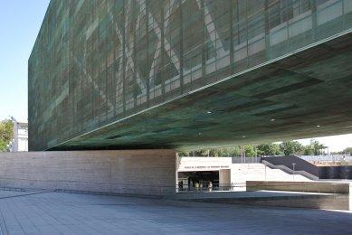 Výlet Santiago de Chile - Muzeum Paměti, Estudio América, 2010 - foto: Ondřej Bartůšek