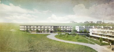 Výsledky architektonické soutěže na Domov ProSen v Litomyšli - foto: FAM Architekti
