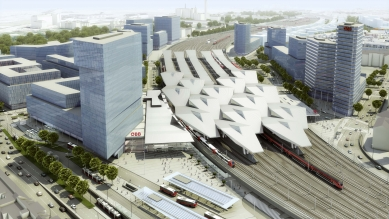 Z Prahy do Vídně se pojede díky novému nádraží o 30 minut rychleji