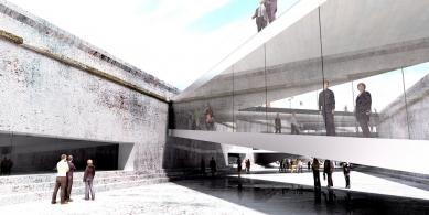 Vítězný návrh dánského námořního muzea od BIG - foto: BIG