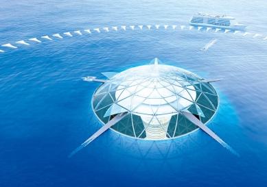 Japonská firma plánuje podmořské město pro 5000 lidí