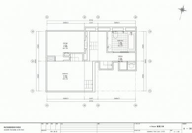 Dům S v Japonsku od Yuusuke Karasawy - Půdorys suterénu - foto: Yuusuke Karasawa Architects