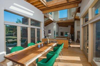 Schnabel Residence navržená Frankem Gehrym je na prodej - foto: michaellafetra.com