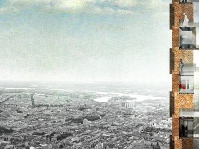 Obytné mrakodrapy Norra Tornen ve Stockholmu od OMA - foto: OMA