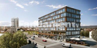 V Olomouci se chystá stavba administrativní budovy Element Office - foto: &copy Fandament Architects s.r.o., spolupráce ArchDesign