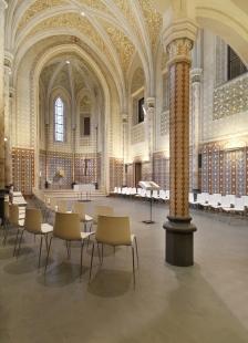 BETONEPOX SOFT® v kostele Svaté Rodiny