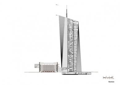 Ve Frankfurtu před otevřením nového sídla ECB nastaly výtržnosti - foto: Coop Himmelb(l)au