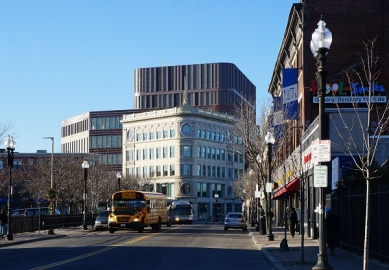 kruh jaro 2015 : Francine Houben - Lidé, místo a účel  - Bruce C. Bolling Municipal Building, Boston, USA - foto: Mecanoo