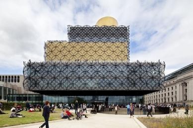 kruh jaro 2015 : Francine Houben - Lidé, místo a účel  - Library of Birmingham - foto: Mecanoo