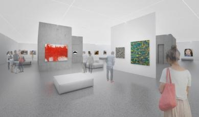 Galerie Niederösterreich v Kremži od Marte.Marte  - foto: Marte.Marte Architekten