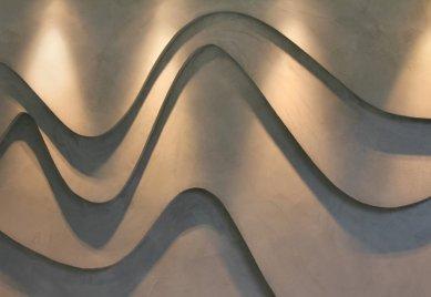 Imitace betonu® v luxusní vile na Vysočině