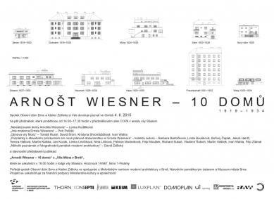 Arnošt Wiesner - 10 domů : přednáškové odpoledne ve vile Stiassni