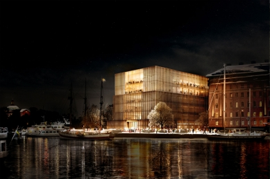 Vítězný projekt Nobelova centra ve Stockholmu od Davida Chipperfielda - foto: © David Chipperfield Architects