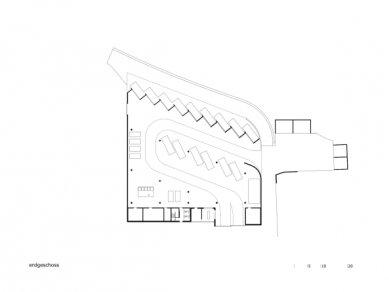 Sběrné odpadové centrum ve Feldkirchu od Marte.Marte - Půdorys - foto: Marte.Marte Architekten