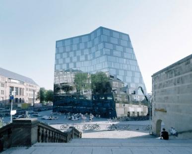 Nová univerzitní knihovna ve Freiburgu od Heinricha Degelo - foto: Barbara Bühler
