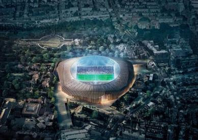 Fotbalový stadion Chelsea v Londýně od H&deM - foto: Herzog & de Meuron