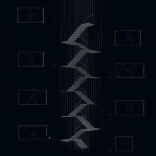 Vertikální bar K8 v Kjótu od Floriana Busche - foto: Florian Busch Architects