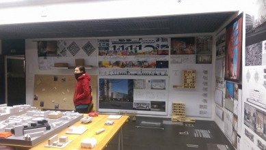 Nová škola architektury z nového ateliéru FA ČVUT - Pohled do ateliéru