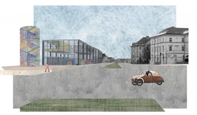 Nová škola architektury z nového ateliéru FA ČVUT - Anna Blažková, nová fakulta architektury / zimní semestr 2015-2016