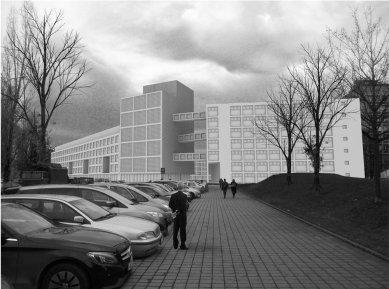 Nová škola architektury z nového ateliéru FA ČVUT - Emília Jarošová, nová fakulta architektury / zimní semestr 2015-2016