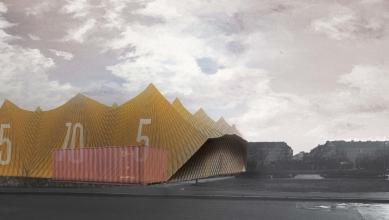 Nová škola architektury z nového ateliéru FA ČVUT - Filip Pšenčík, nová fakulta architektury / zimní semestr 2015-2016