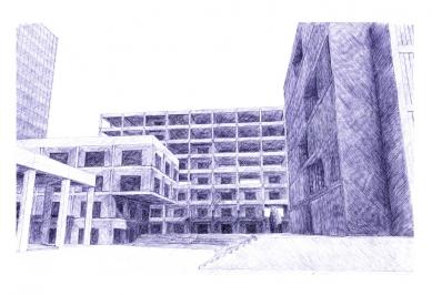 Nová škola architektury z nového ateliéru FA ČVUT - Antonín Hampl, nová fakulta architektury / zimní semestr 2015-2016