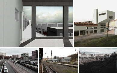 Nová škola architektury z nového ateliéru FA ČVUT - Anna Svobodová - Zuzana Šikulová, nová fakulta architektury / zimní semestr 2015-2016