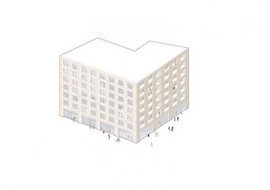 OLOVĚNÝ DUŠAN 2016 - Architektura a urbanismus: vítězný projekt - Rohový dům