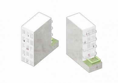 OLOVĚNÝ DUŠAN 2016 - Architektura a urbanismus: vítězný projekt - Townhouse