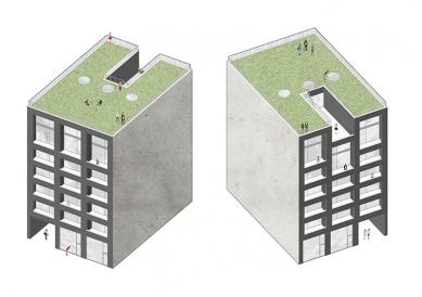 OLOVĚNÝ DUŠAN 2016 - Architektura a urbanismus: vítězný projekt - Hipster house