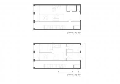 OLOVĚNÝ DUŠAN 2016 - Architektura a urbanismus: vítězný projekt - Townhouse - jeden byt