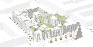 OLOVĚNÝ DUŠAN 2016 - Architektura a urbanismus: vítězný projekt - Hlavní model