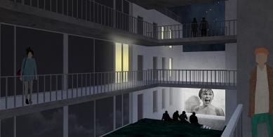 OLOVĚNÝ DUŠAN 2016 - Architektura a urbanismus: vítězný projekt - Hostel v noci