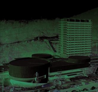 V+V Machoninovi 60'/70' - pozvánka na výstavu - Thermal - stavba - foto: archiv V. Machoninové