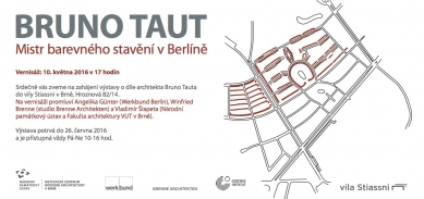 Bruno Taut - mistr barevných staveb ve vile Stiassni