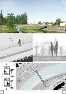 Lávka přes řeku Lubinu v Příboře - výsledky soutěže - Odměna - foto: MDS PROJEKT, s.r.o.
