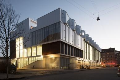 Sportovní hala v Kodani od Dorte Mandrup - foto: Jens Larsen