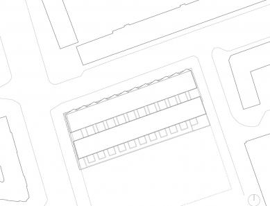 Sportovní hala v Kodani od Dorte Mandrup - Situace - foto: Dorte Mandrup Arkitekter