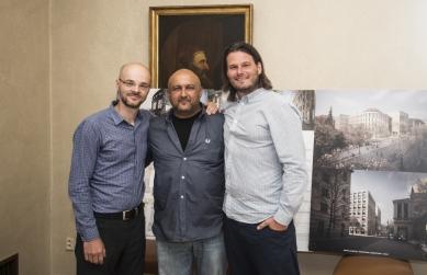 Soutěž na Kampus Albertov vyhrálo Znamení čtyř - architekti