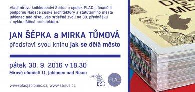 Tištěná architektura: Jan Šépka aMirka Tůmová