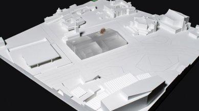 Herzog & de Meuron zvítězili v soutěži na Neue Nationalgalerie v Berlíně - 1. místo - foto: Herzog & de Meuron
