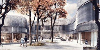 Herzog & de Meuron zvítězili v soutěži na Neue Nationalgalerie v Berlíně - 2. místo - foto: Lundgaard & Tranberg Architects