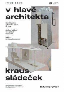 Zlínská krajská galerie představí architekty Sládečka a Krause - Pozvánka na výstavu