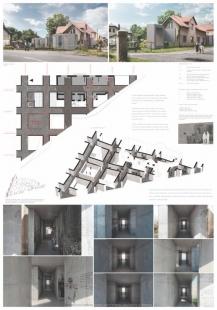 Památník Jana Palacha ve Všetatech - výsledky soutěže - 3. cena - foto: RO_AR Szymon Rozwalka architects