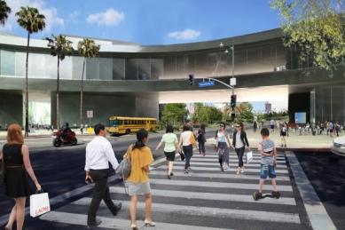 Nová podoba muzea LACMA v Los Angeles od Petera Zumthora - foto: Peter Zumthor Architekt & Partner