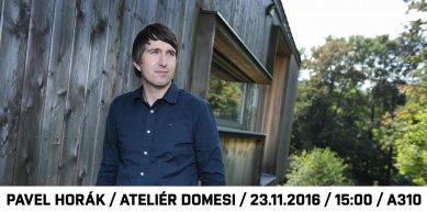 Pavel Horák : O navrhování rodinných domů ze dřeva
