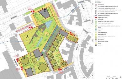 V bývalém Krasu v Brně má stát soubor pěti polyfunkčních domů